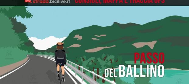 Il passo del Ballino in bici da corsa: consigli e tracce GPS scaricabili