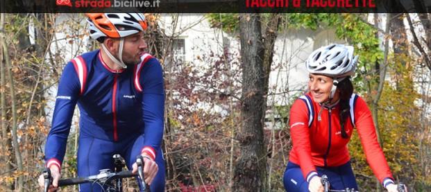 Tacchi e Tacchette, in bici con Sofia e Giampaolo