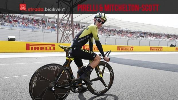 Pirelli: il nuovo accordo con il team World Tour Mitchelton-Scott