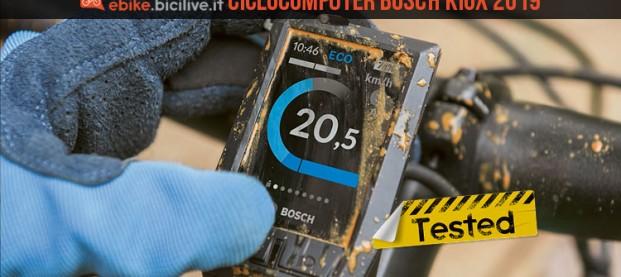 Ciclocomputer Bosch Kiox: display a colori compatto per uso sportivo