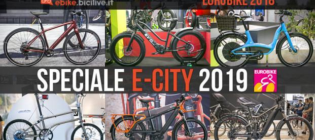 Eurobike: speciale bici elettriche da città 2019