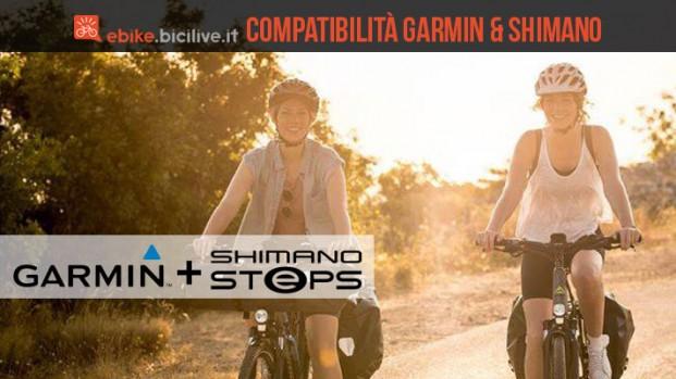 Garmin Edge e Shimano STEPS: è amore a primo dato