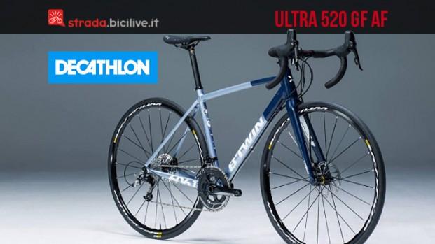 B'Twin Ultra 520 AF GF: la bicicletta in alluminio per le Granfondo