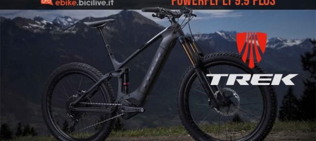 Trek Powerfly LT 9.9 Plus: evoluzione elettrica 2019 in carbonio