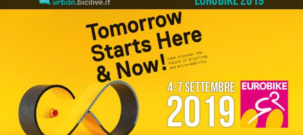 Eurobike 2019 aprirà le sue porte dal 4 al 7 settembre
