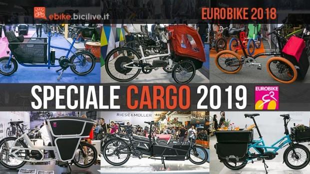 Eurobike: speciale cargo bike elettriche 2019