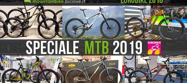Eurobike: speciale mountain bike 2019