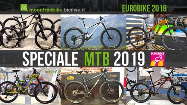 Eurobike: speciale mountain bike 2019