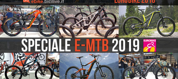 Eurobike: speciale nuove eMTB 2019