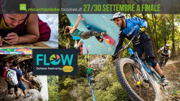 Il Flow Outdoor Festival 2018 vi aspetta a Finale Ligure dal 27 al 30 settembre