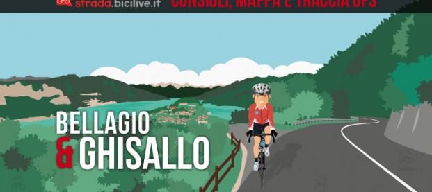 Giro ad anello nel Triangolo Lariano: Onno, Bellagio, Ghisallo e Asso