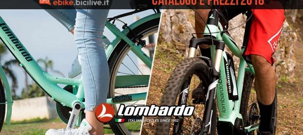 Bici elettriche Lombardo: catalogo e listino prezzi 2018