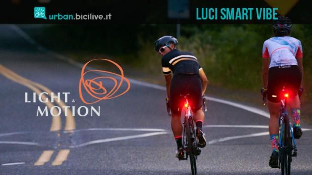 Vibe: le luci che sentono bicicletta e ambiente