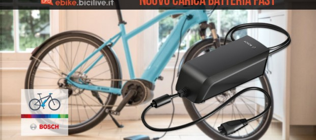 Carica batteria veloce Bosch Fast Charger 2019