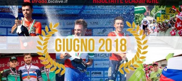 Il Carnet di giugno 2018: risultati e vincitori di corse e gare