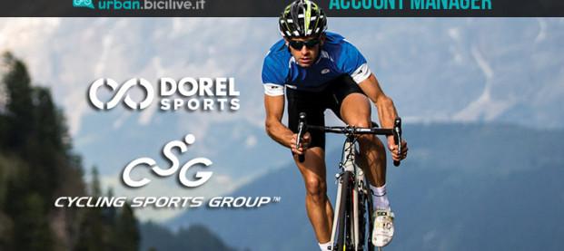 Opportunità di lavoro: Cycling Sports Group cerca Account Manager per l'Italia