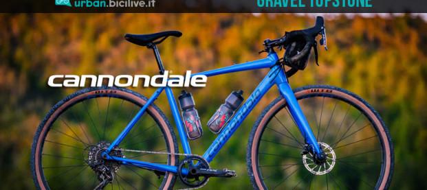 Cannondale Topstone 2019: la bici gravel per l'avventura
