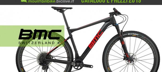 Le mountain bike di BMC per il 2019: catalogo e listino prezzi