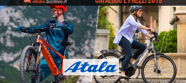 Atala bici elettriche: catalogo e listino prezzi 2019