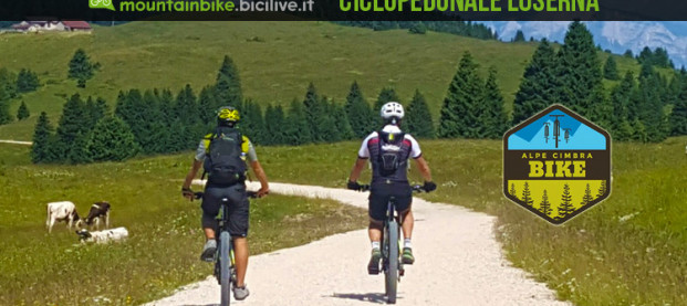 La Ciclopedonale di Luserna vi porta a spasso per l'Alpe Cimbra