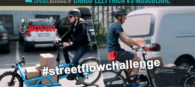Comparativa cargo bike: muscolare Vs elettrica