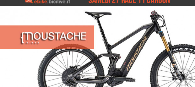 Moustache Samedi 27 Race 11 Carbon 2018: performante e leggera