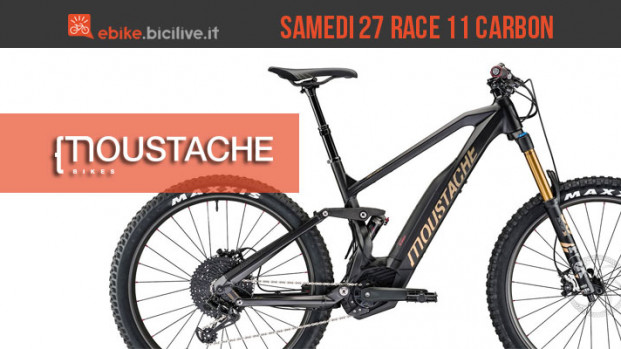 Moustache Samedi 27 Race 11 Carbon 2018: performante e leggera