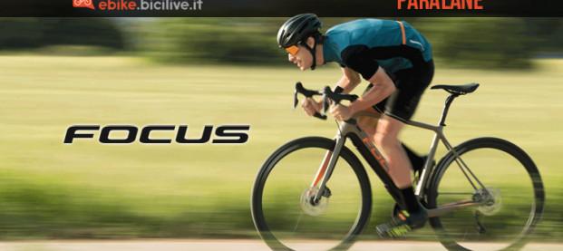 Focus Paralane²: linea eRoad in carbonio con motore Fazua