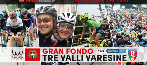 Granfondo Tre Valli Varesine 2018: il 7 ottobre la terza edizione