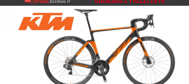 Le bici da strada e ciclocross di KTM: catalogo e listino prezzi 2019