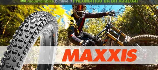 Maxxis Assegai, il pneumatico DH disegnato da Greg Minnaar