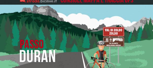 Passo Duran in bici: consigli e tracce GPS scaricabili