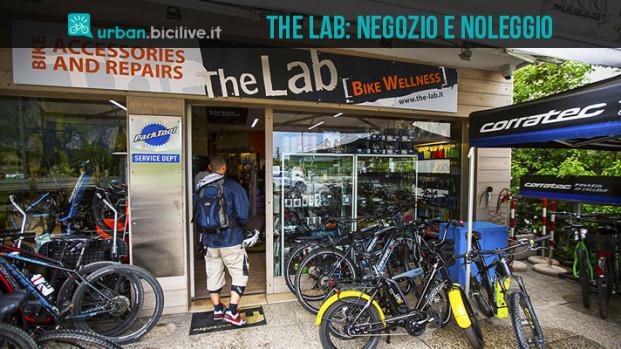The Lab: ciclista, shop e noleggio ebike a Riva del Garda