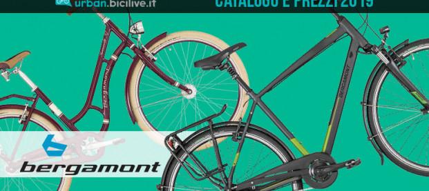 Biciclette urban e trekking Bergamont 2019: catalogo e listino prezzi