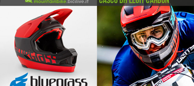 Nuovo Bluegrass Legit Carbon, il casco superleggero per DH