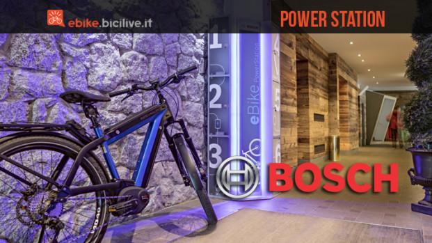 Bosch Power Station, il network di rifornimento per ebike