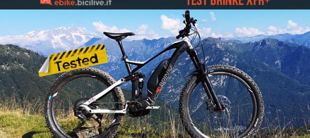 Test eMTB Brinke XFR+, una tuttofare con motore Shimano