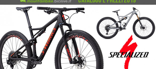 Le mountain bike di Specialized per il 2019: catalogo e listino prezzi