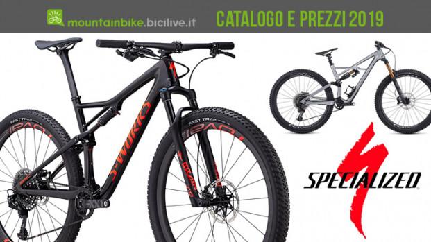 Le mountain bike di Specialized per il 2019: catalogo e listino prezzi