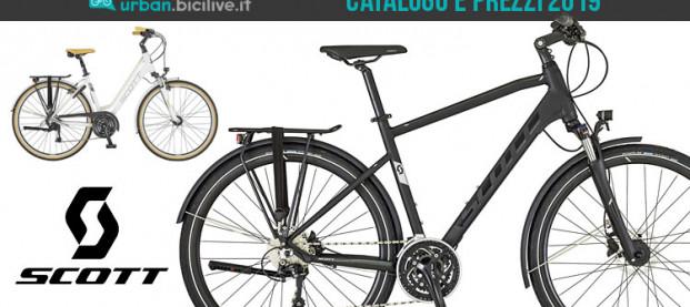 Le bici urban e trekking di Scott: catalogo e listino prezzi 2019