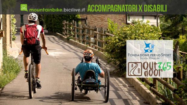 Corso per accompagnatori per persone disabili in mountain bike