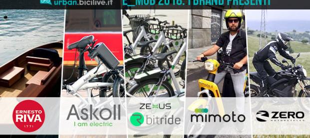 A e_mob 2018 protagonisti i brand della mobilità elettrica