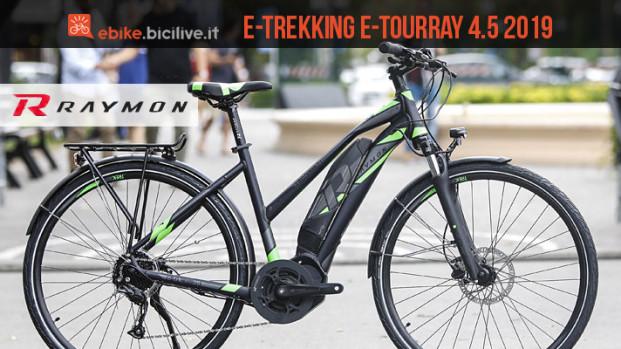 Raymon E-Tourray 4.5, una e-trekking con motore Yamaha TE