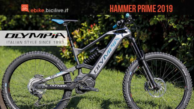 La nuova eMTB Olympia Hammer Prime 2019