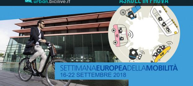 Settimana Europea della Mobilità 2018: prova gratis i mezzi elettrici Askoll