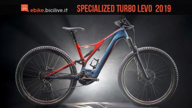 Specialized Turbo Levo 2019, 29 pollici e 700 Wh di batteria