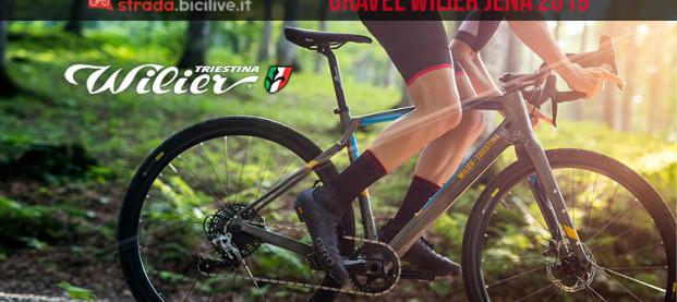 Wilier Jena: la nuova bici gravel con telaio in carbonio
