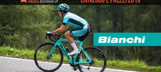 Le eBike 2019 di Bianchi: il catalogo e listino prezzi