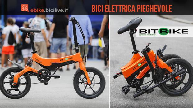 Il mini-test della bici elettrica pieghevole BitBike