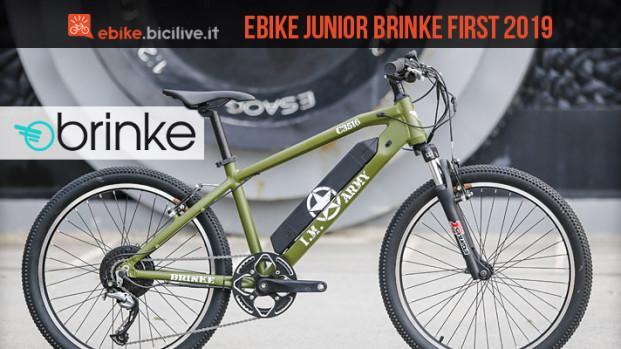 Brinke First 2019: eBike fuoristrada per i più piccoli